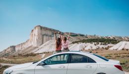 ваканция на път с добри летни гуми