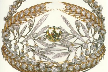 диамантената тиара на Мария Федоровна