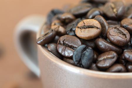 зърна кафе от Бразилия